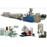 pvc pipe extruder -pvc pipe machine-pvc pipe extrusion-pvc pipe machines-pvc pipe machinery thumbnail image