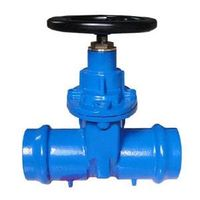 Double Socketted Type Resilient Seat Gate Valve