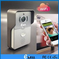 ATZ Factory Outlets IR camera doorbell housing android / IOS door bell, wireless doorbell, WIFI door