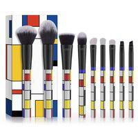 9PCS Magic Tube Makeup Brush Set, Synthetic Hair, Plastic Handle thumbnail image
