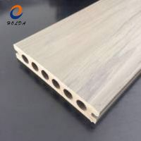wooden grain surface deep embossing anti-rotten wpc outdoor decking composite decking for outdoor