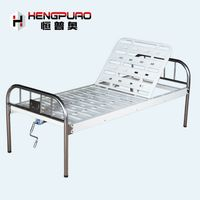 elderly patient manual adjustable reclining hospital beds for sale thumbnail image