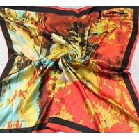 Ink & Wash Square Silk Scarf (Large)