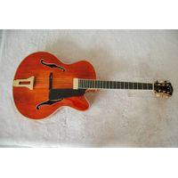 wholesale cheap price handmade solid wood best jazz guitar for sale