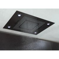 big size showe head set SUS304 ceiling mounted four function rain water fall curtain