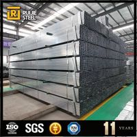 Pre galvanized ERW square steel pipe