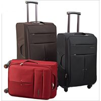 Light weight soft trolley luggage set for travel