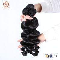 Loose Wave Human Hair Weft/Weaving Top Grade