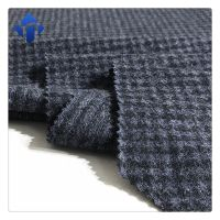Wholesale good quality polyester knitted jacquard wool fabric for garment thumbnail image