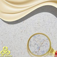 JW-6867 Finland-Directly contact with food Quartz Stone Slab for countertop