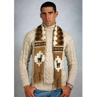 Alpaca wool scarf thumbnail image