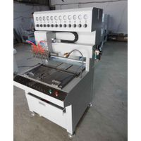 12 color factory sales pvc patch making machine, pvc dispensing machine