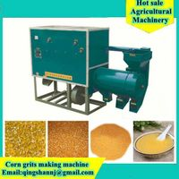 Africa Corn Grits Making Machine Corn Grits Machine