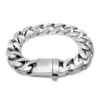 Wholesale SKULL & SKELETON stainless steel punk &Rock style BRACELET for men