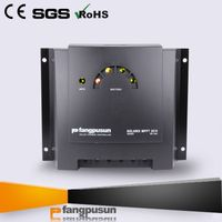 Factory price MPPT solar controller 10A 18A LCD monitor auto work