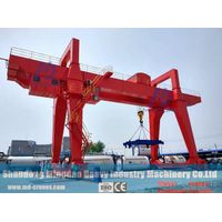 China Made double girder gantry crane for sale