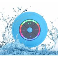Wireless Bluetooth Waterproof Speaker with LED light