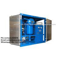 Online Transformer Oil Filtration System made by ASSEN