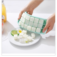 2020 new Food grade silicone ice cube tray FDA thumbnail image