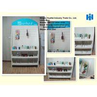 Dismountable MDF display shelf