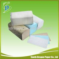 Coloured Folded Hand Paper Towel