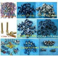 Titanium Fasteners- bolts and nuts