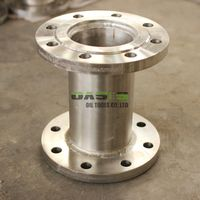 DN150 Stainless steel 304 double flanges welded pipe flange fitting pipe
