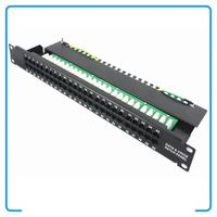 50-Port Cat3 RJ11 Data And Telephone Voice Patch Panels