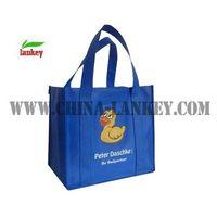 Advertising shopping bag
