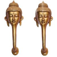 Buddha Face Antique Door Handle of Brass made