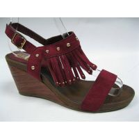 strong heel sandal
