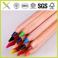hot sale natural wooden color pencil set