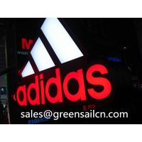 LED sign custom logo letter 3D illuminated channel lettering advertising display