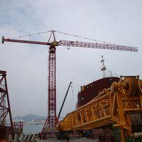 Used tower crane : Kroll K-550D