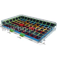 Hot sale Giant size jumping trampoline bed