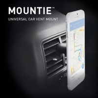 Car Mount Mountie Universal Cell Phone GPS Air Vent Magnetic Car Cradle thumbnail image