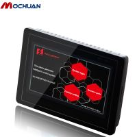 small embedded industrial lcd display touch screen hmi low cost plc