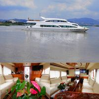 26.8m/50Passenger high speed ship/ Fiberglass passenger ship for Sale