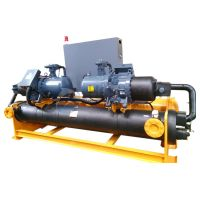 Full Closed 220v Water Cooled Screw Chiller