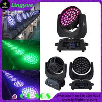 36x12w rgbw 4in1 zoom beam led moving head thumbnail image