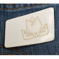 fashion leather patch for garment thumbnail image