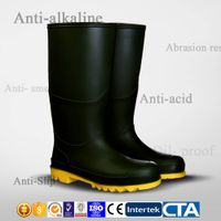 CE PVC waterproof boots