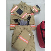 EN standard 4 layer firefighter safety bunker suit
