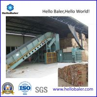 New Semi-Autmatic Horizontal Hydraulic Baler Unit for Paper, Plastic