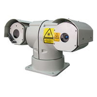 T-shape Night Vision Infrared Laser PTZ Camera