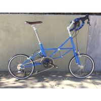 New Moulton Jubilee Bugatti Blue SRAM Force22 Folding Bike.......$2,650 USD