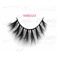 Siberian 3D Mink Lashes with Private Label MBD23 Handmade Lashes