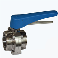 Stainless Steel Sanitary Butterfly Valve thumbnail image