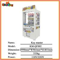 Key master prize vending game machine