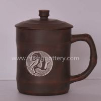 Ceramic Tea Cups Yixing Tea Cups Monkey Tea Mug Nixing Pottery Tea Cup
